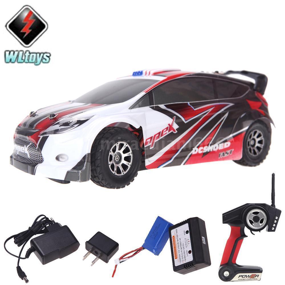 Wltoys a949 rc - car 18 1   18 - skala 2.4gh rtr 4wd - rallye - auto rot.