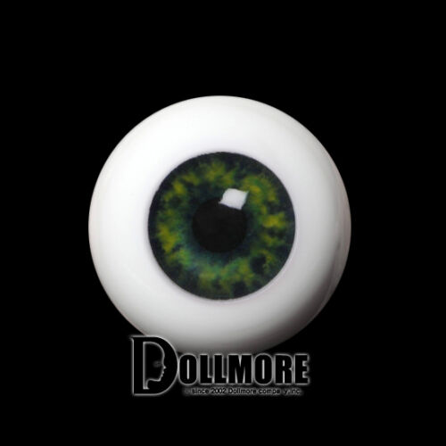 Green Dollmore BJD New 20mm Half-Round Acrylic Eyes