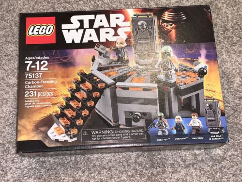 New In Box Lego Star Wars Carbon-Freezing Chamber 75137