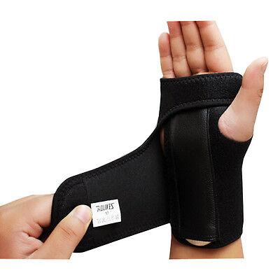 Neoprene Wrist Palm Brace Support Carpal Tunnel Splint Arthritis Sprains Strain
