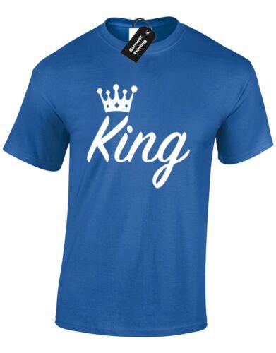 King hommes t shirt nouveau drôle design marié cadeau mariage présents fashion swag dope