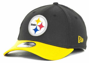 3f0e448ea Pittsburgh Steelers Men s New Era 39THIRTY NFL Football Flex Fit Hat ...