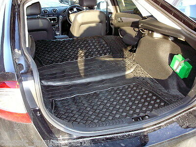 Choice of boot tray load liner mat bumper protector Ford Mondeo hatch MK 4 IV