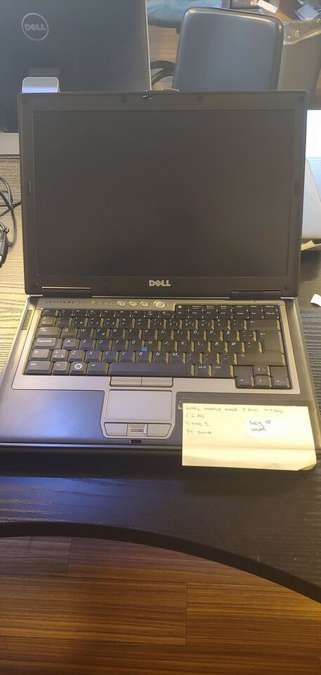 Dell Latitude D630, Core 2 Duo 2.2 Ghz GHz, 4 GB ram