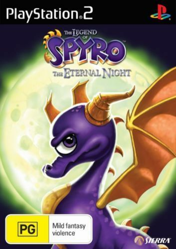 THE LEGEND OF SPYRO THE ETERNAL NIGHT PS2 GAME