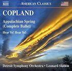 Copland: Appalachian Spring; Hear Ye! Hear Ye! (CD, Sep-2016, Naxos (Distributor))