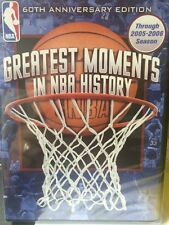 NBA Greatest Moments in NBA History (DVD, 2014)