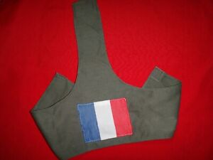 French National Flag Green OD Military Armband