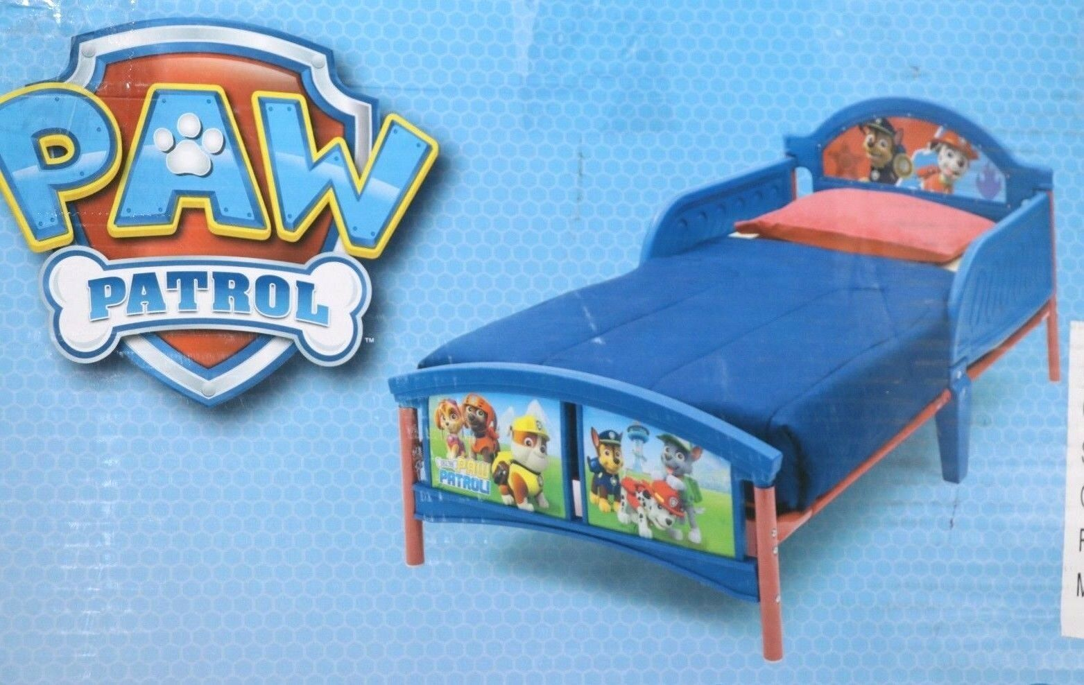 Delta Kids - Paw Patrol Kinderbett 70 X 140 Cm blau günstig kaufen ...