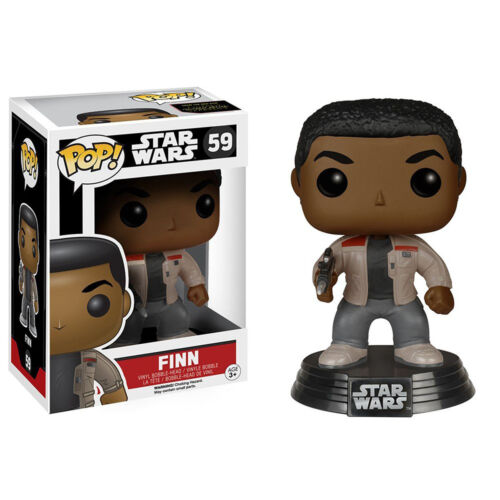 Star Wars Force Awakens POP Finn Bobble Head Vinyl Figure NEW Toys Funko