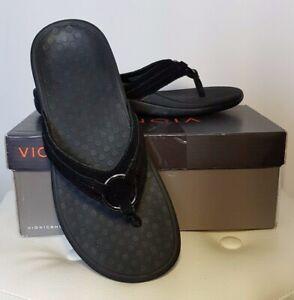 2b430d43ff96a Vionic Orthotic Tide Aloe Circle Toe Post Sandal w/ FMT Technology ...