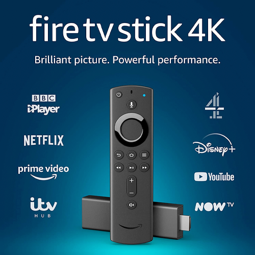 Amazon Fire TV Stick 4K Ultra HD Streaming Stick With Alexa Voice Remote