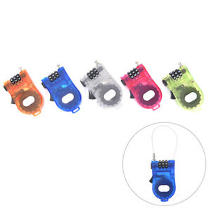 Extendable-Wire-Security-Cable-Lock-Anti-Theft-Rope-3Digit-Password-Padlock-NM-Y