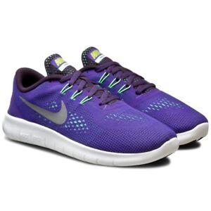 NWOB-Girls-Nike-Free-RN-GS-Running-Athletic-Shoes-Sneaker-Purple-833993-501