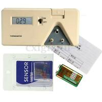 Electric Thermometer Temperature Tester Solder Iron Tip 0-600℃ 006P 9V + Sensors