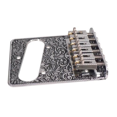 E Gitarren Steg mit Coil Pickup Loch 2 x Guitar Switch Control Plate