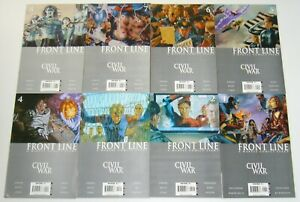 Civil-War-Front-Line-1-11-VF-NM-complete-series-1st-appearance-of-penance