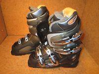 Rossignol Open X1 Womens Snow Ski Boots Black Transparent Size 6 Mondo 23.5