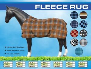 Anti Sweat Fleece Horse Rug Cooler
