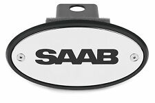 SAAB Chrome Receiver Hitch Cover - MADE IN USA