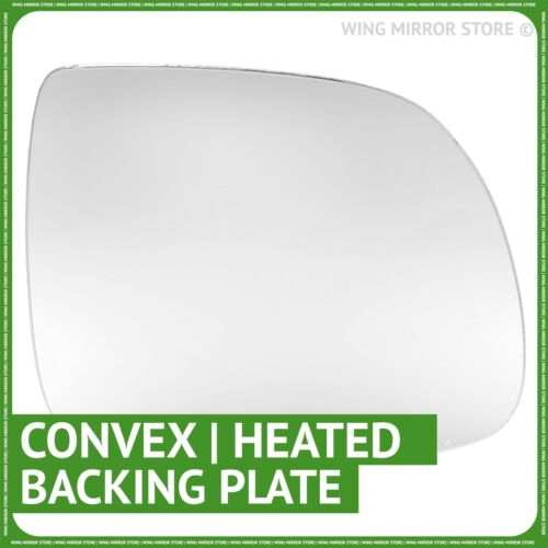 Right hand driver side for Audi Q5 2008-2016 heated wing mirror glass Plate