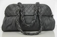 6a405794f397 item 4 New CHANEL Classic Large Shopping Quilted Tote Grey SOFT Leather  Bowler Bag -New CHANEL Classic Large Shopping Quilted Tote Grey SOFT  Leather Bowler ...