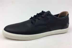 64c935ad43 Lacoste Espere 117 1 Cam Leather Sneakers - Men's Size 11, Black 417 ...