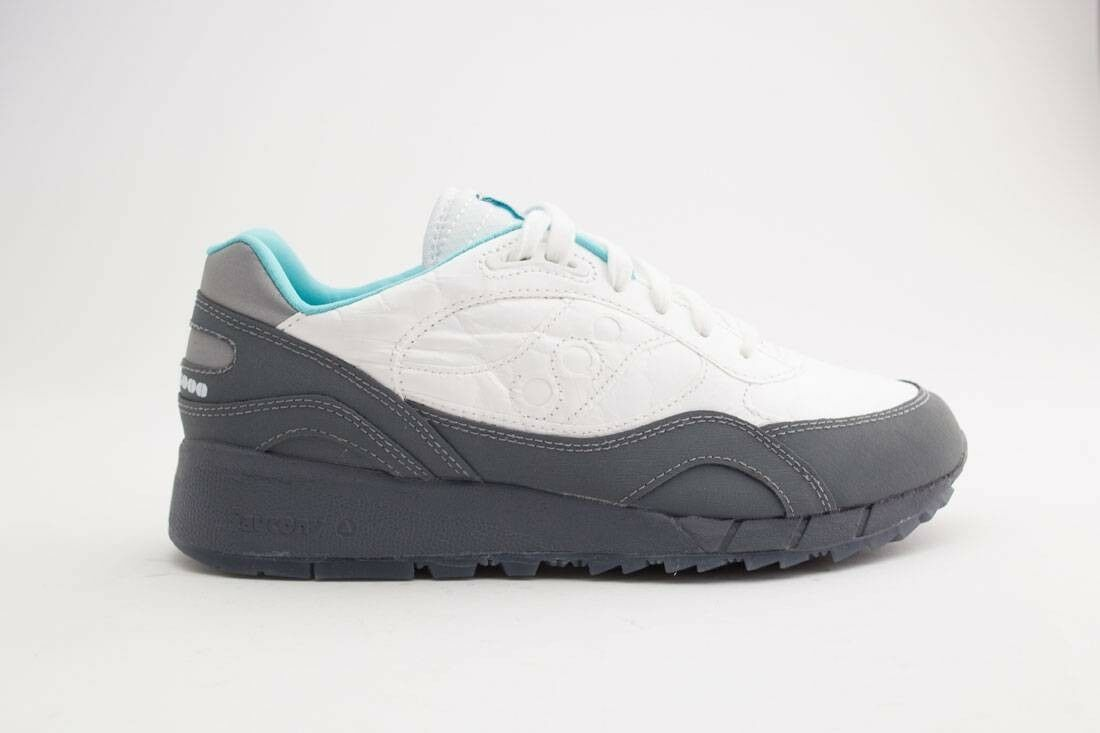 $119.99 Saucony uomo Shadow 6000 - Space Pack white charcoal S70345-2 Scarpe classiche da uomo
