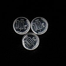 (3) 10 Centavos 1999-2000  & 2001  Mexico Ship 50Cts Per item Added
