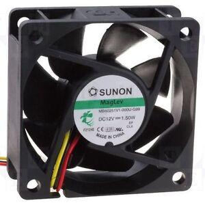 Sunon-60mm-x-25mm-Vapo-Bearing-Magnetic-cooling-Fan-MB60251V2