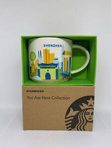 Starbucks You Are Here Collection Shenzhen Chine Céramique Café Tasse Neuf À Box