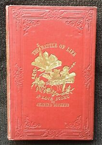 The Battle of Life 1846 1st Edition  Charles Dickens