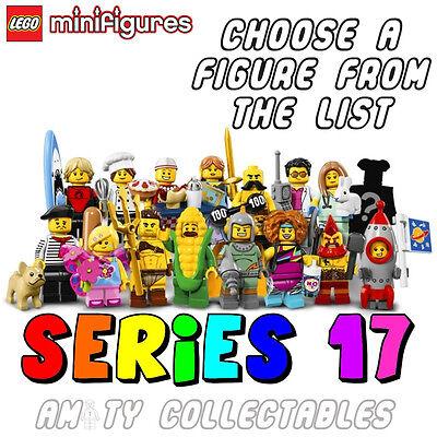 Genuine Lego 71018 Minifigure series 17 w// Poster no.9 Connoisseur