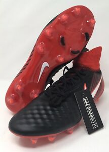 f5c275910f93 Nike Magista Orden II 2 DF FG Soccer Cleats Fire   Ice Red Black ...