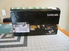 Lexmark Black Toner Cartridge C5220ks Open Box Factory Sealed Inner Packaging