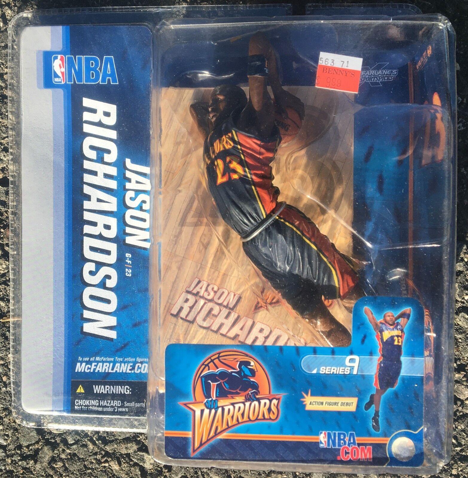 Jason Richardson golden State Warriors NBA Action Figure McFarlane Toys FS