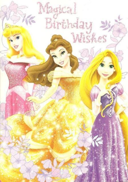 Hallmark Disney Princess Magical Birthday Wishes Open Card