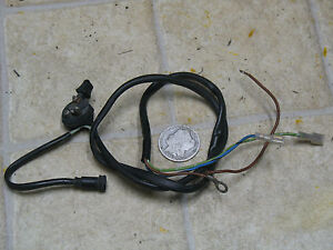 details about 77 ktm foxi gt sachs 50cc misc switch harness Electrical Wire Harness