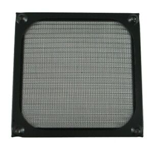 92mm-High-Quality-Anodized-Aluminum-PC-DC-Fan-Grill-Guard-Filter-Black-Dustproof