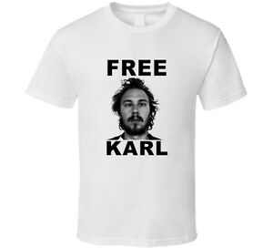 Workaholics Tv Show Free Karl T Shirt by Alstyle Apparel