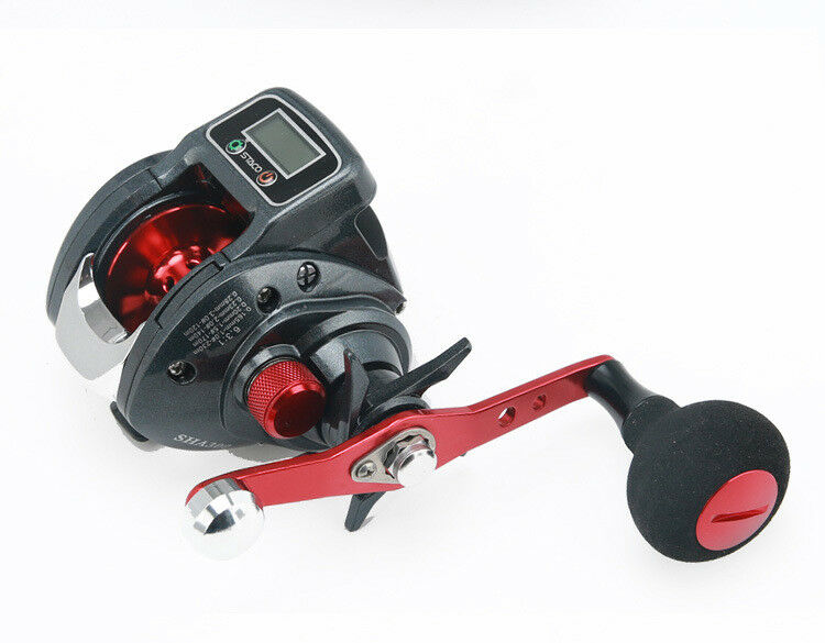 Digital Water Spinning Fishing Reel Anti-explosion Right-Hand 14axis Road Wheel
