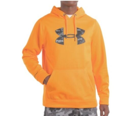 Under Armour UA STORM Rival Mens Hoodie NWT L XL Or XXL NWT Orange