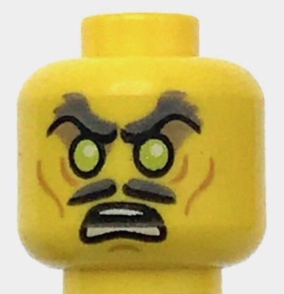 LEGO NEW LIGHT FLESH MINIFIGURE HEAD MASK WITH EYEHOLES ZORRO BANDIT FACE