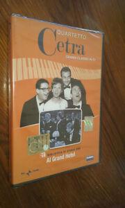 DVD-nuovo-grandi-classici-QUARTETTO-CETRA-LA-Biblioteca-Studio-1-AL-GRANDE-HOTEL