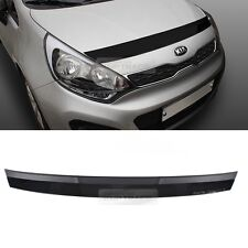 Front Bonnet Bug Shield Guard Exterior Molding for KIA 2012-2016 2017 Rio Pride
