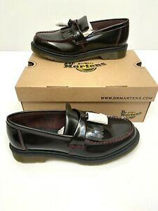 Details about Dr Martens Men's Adrian Tassel Loafer Kiltie CHERRY RED Arcadia US 10 New Docs