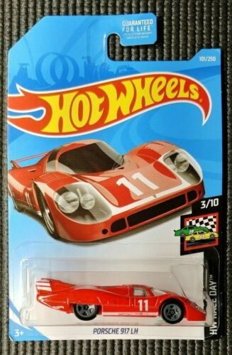 Red Hot Wheels Race Day 1971 Porsche 917 LH