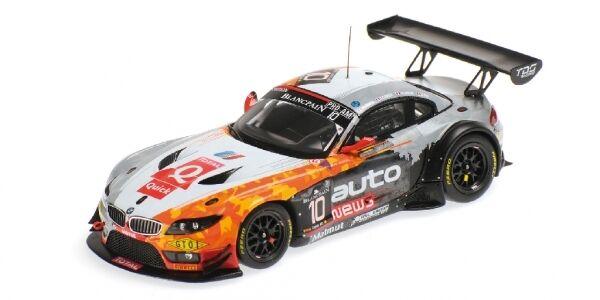 BMW z4 gt3 équipe TDS Racing Armindo CLEMENT Lariche PLA 24 H Spa 2014 1 43 MODEL