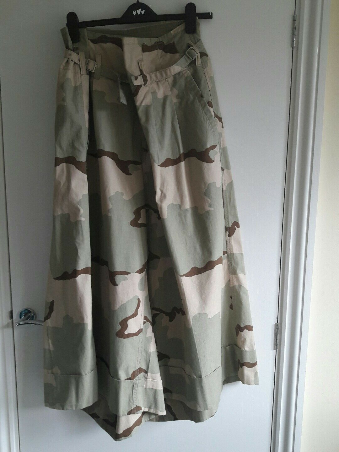 Trousers Vintage JUNYA WANTANABE M 12 14 16 CAMOUFLAGE COMME DES GARCONS militar