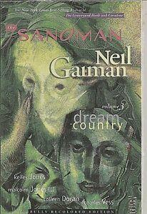 ° The Sandman Dream Country riceve #17 a 20 TPB ° US VERTIGO n. GAIMAN 2010